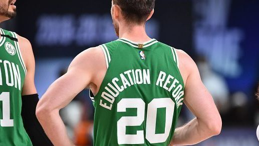 Gordon Hayward of the Celtics
