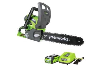 Greenworks 12-Inch 40V Cordless Electric Chainsaw