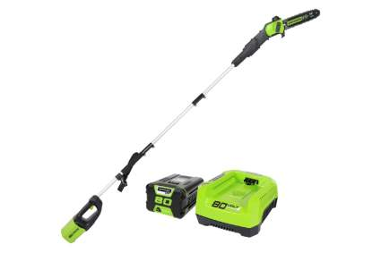 Greenworks Pro 80V 10-Inch Brushless Cordless Pole Saw