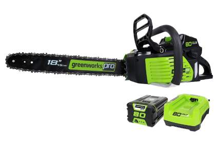 Greenworks Pro 80V 18-Inch Cordless Chainsaw
