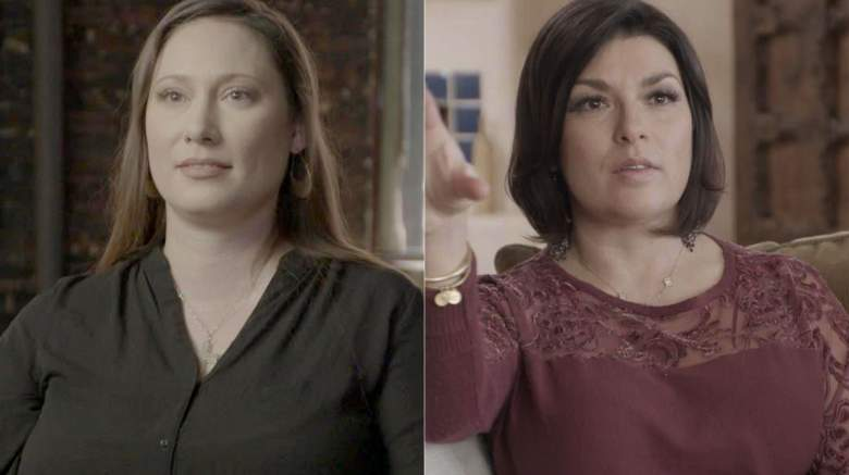 Kiki Doe (L) and Rachel Benavidez are two survivors featured in Surviving Jeffrey Epstein