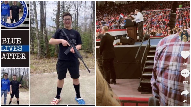 Kyle Rittenhouse Posted Tiktok Video From Trump Rally Heavy Com