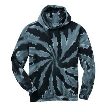men's tie-dye hoodie