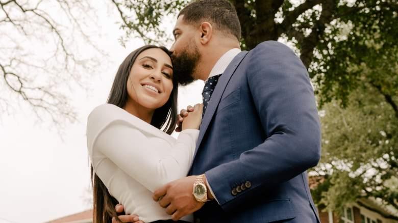 Dani and Donovan on Marrying Millions Season 2