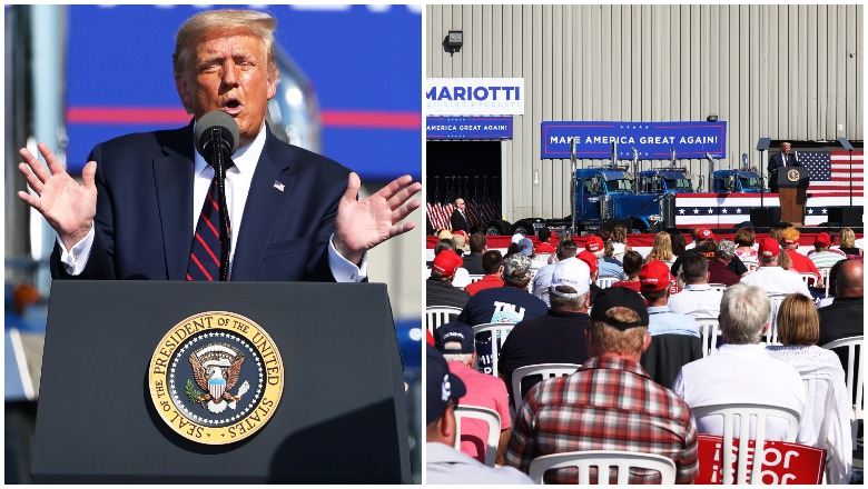 Trump's Old Forge, Pennsylvania Rally