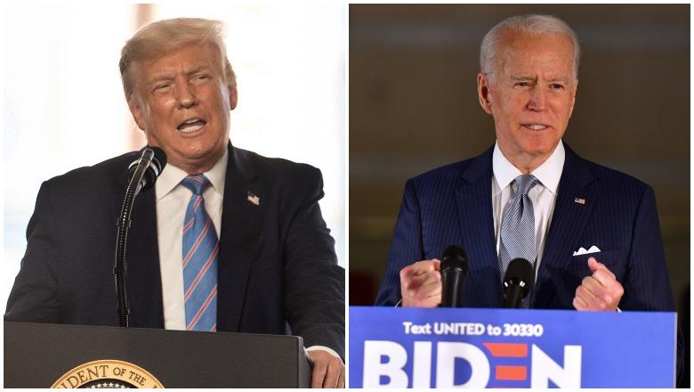 Trump vs Biden Betting Odds