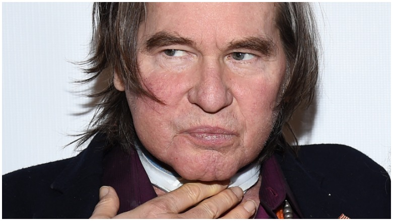 What Happened To Val Kilmer S Voice Since His Throat Cancer Battle Heavy Com