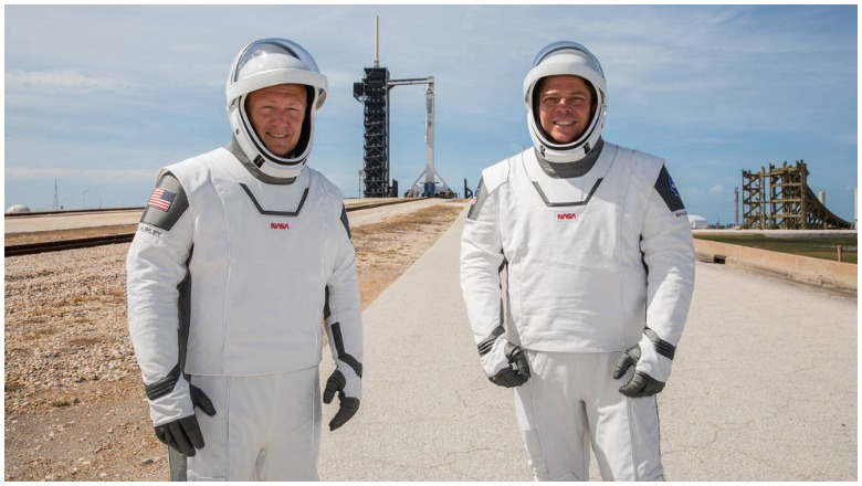 NASA SpaceX Return to Earth