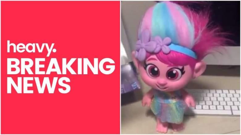 Trolls World Tour Poppy doll