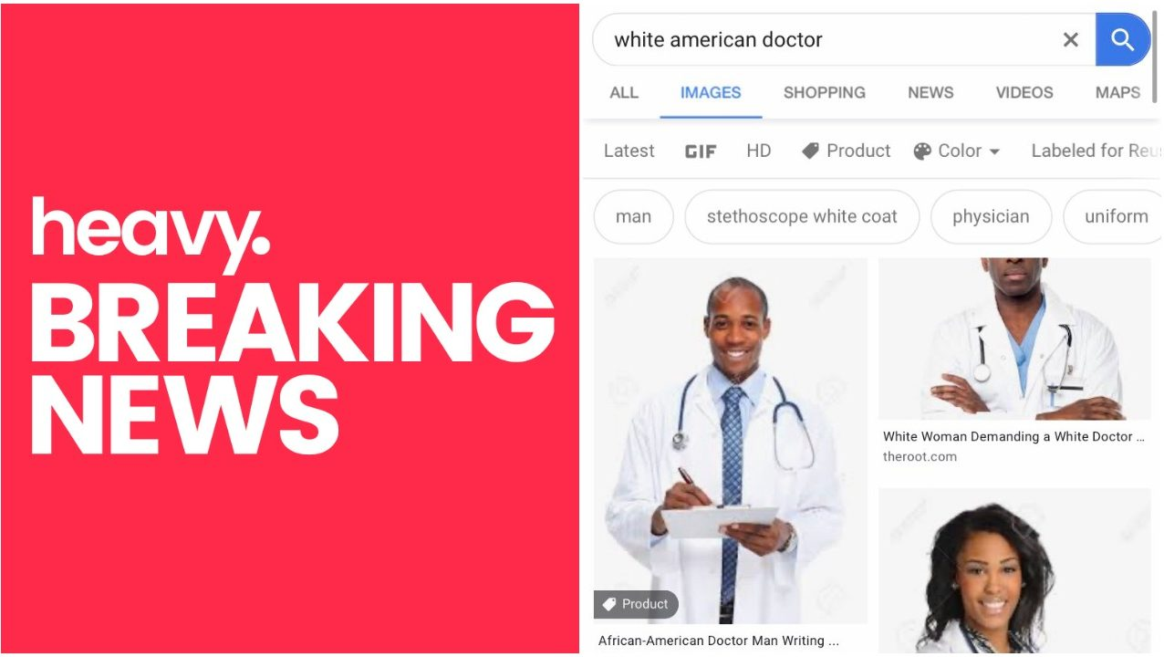 Why White American Doctor Image Search Shows Black Doctors Heavy Com