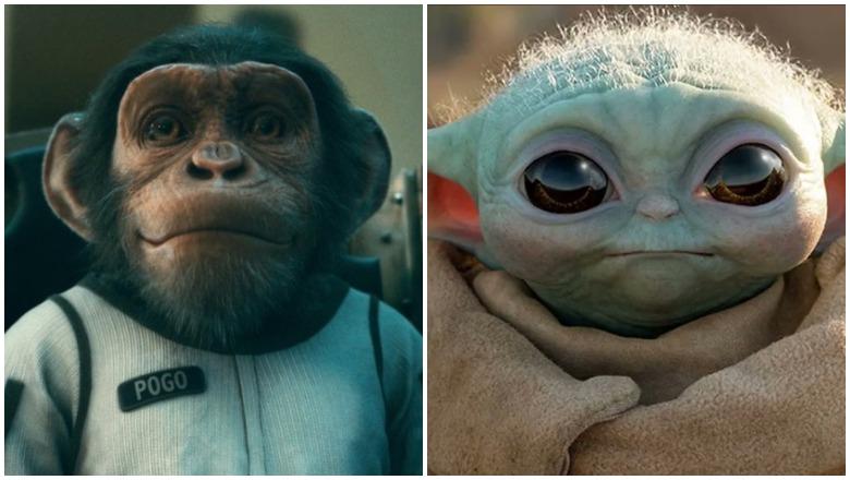 Baby Pogo vs Baby Yoda
