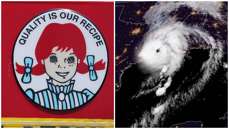 Lake Charles Wendy's and Hurricane Laura