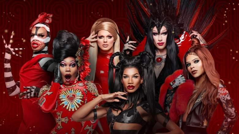 The six queens of RuPaul's Drag Race Vegas Revue