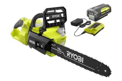 Ryobi 40V 14-Inch Brushless Cordless Electric Chainsaw