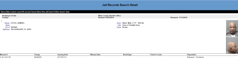 samuel little jail record