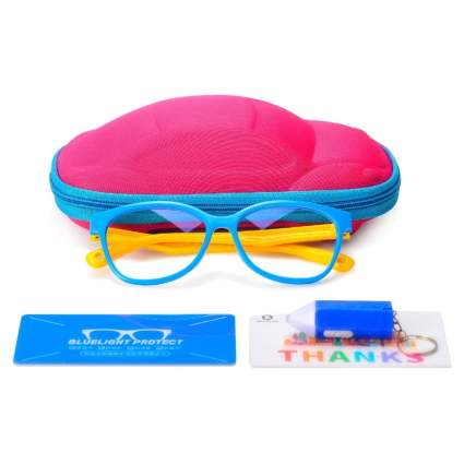 Seeafun Blue Light Blocking Glasses for Kids