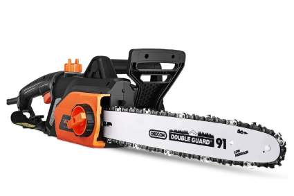 Tacklife 15 Amp 18-Inch Corded Electric Chainsaw