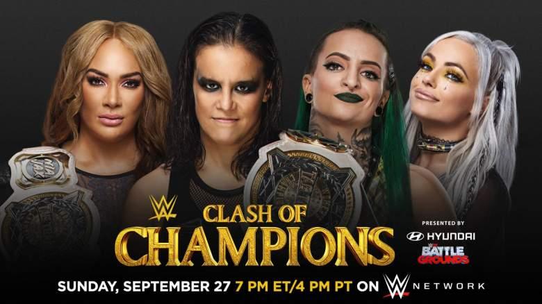 WWE Clash of Champion 2020