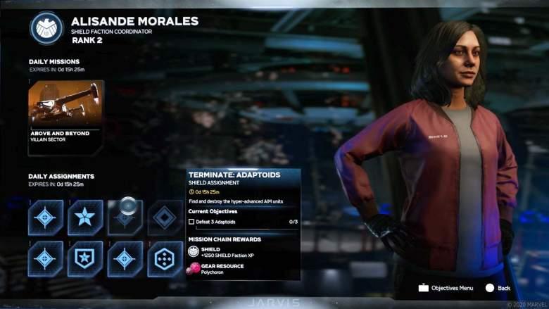 Marvel's Avengers Factions