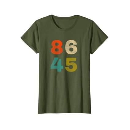 8645 Retro Weathered T-Shirt