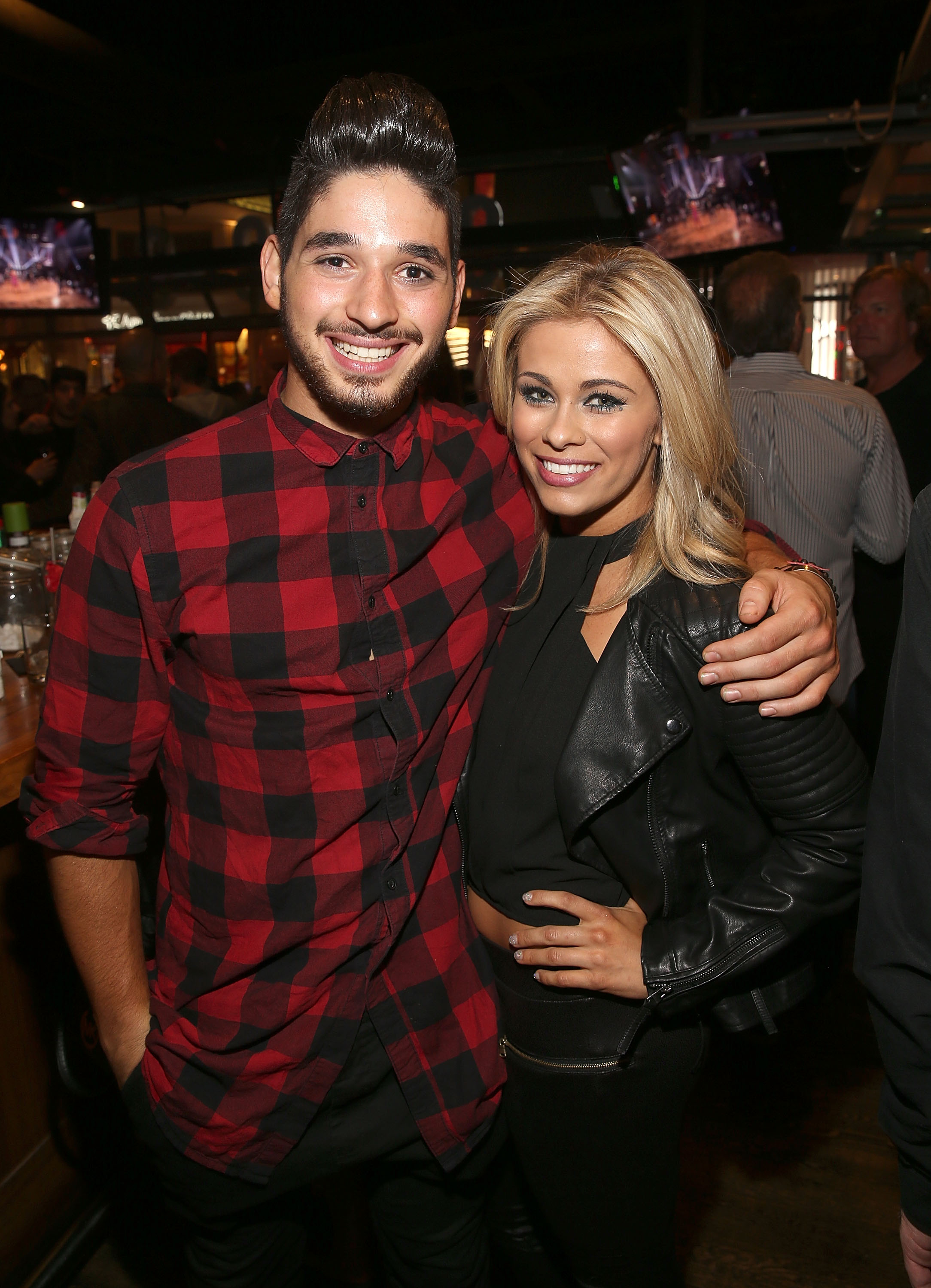 Alan Bersten and Paige VanZant