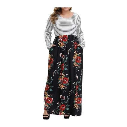 Allegrace patchwork dress