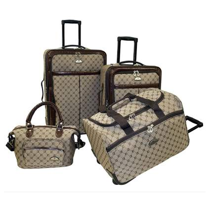 four piece luggage set