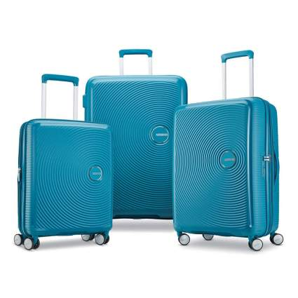 three piece hardside luggage set