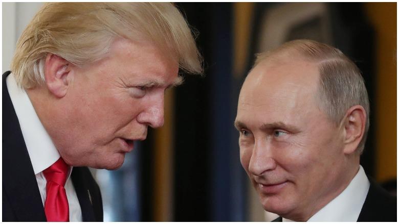 Biden Trump Putin Puppy