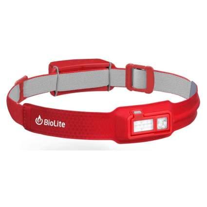 Red BioLite headlamp