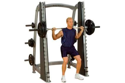 smith machine home gym