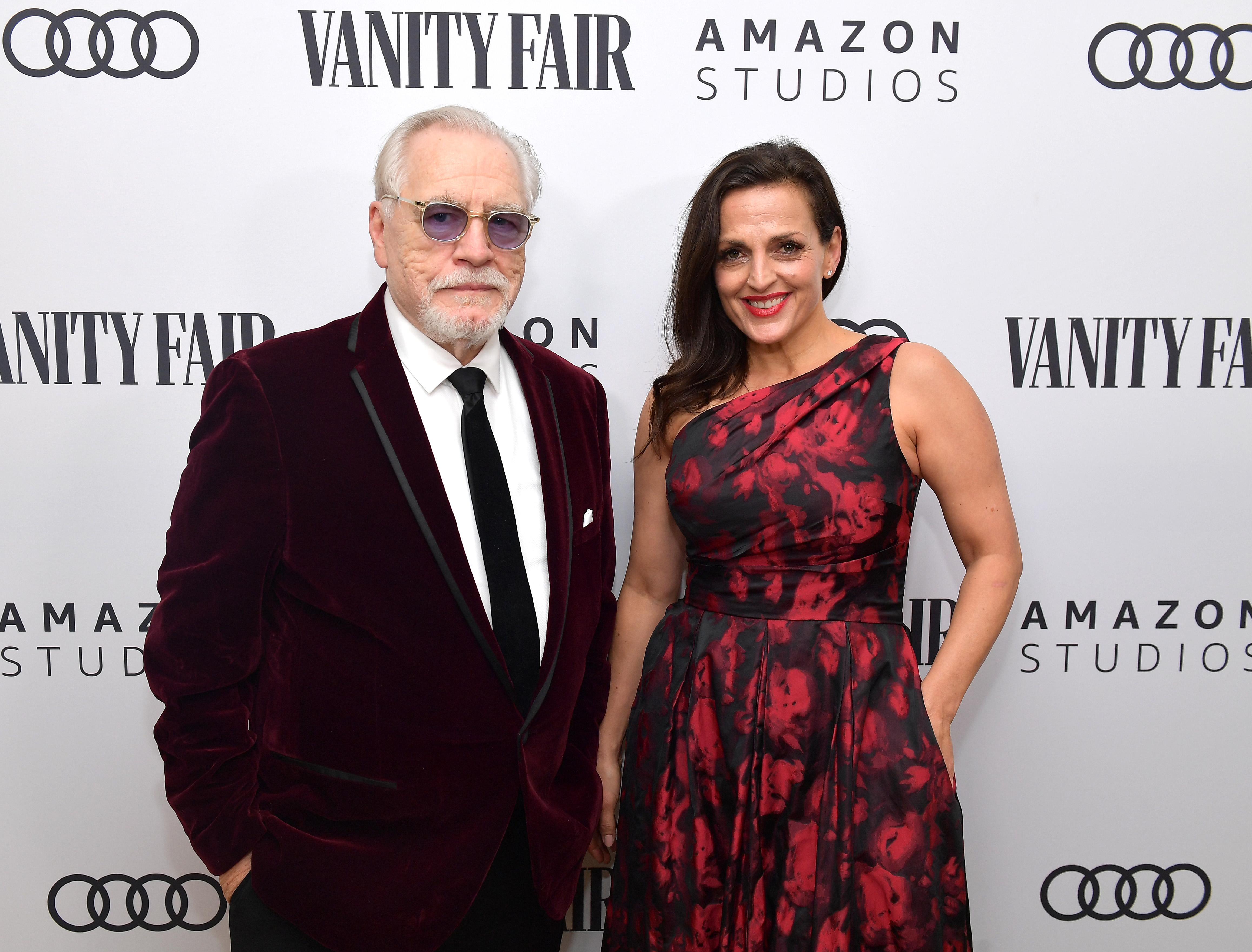 Nicole Ansari husband Brian Cox