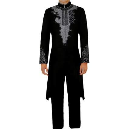 CG Costume Men's Black Tuxedo T'Challa Costume