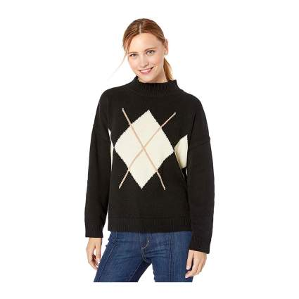 Cable Stitch argyle sweater