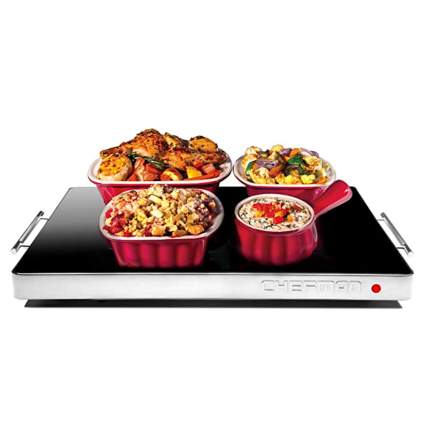 electric warming tray