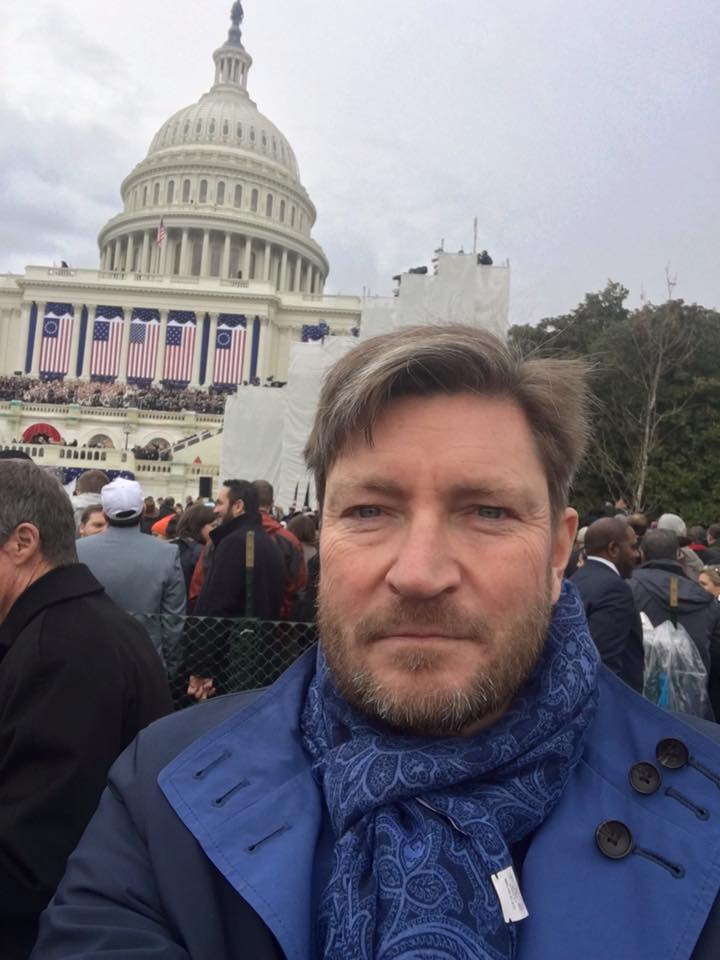 Christian Tybring-Gjedde Trump inauguration