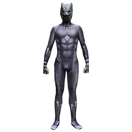 Cosfunmax Zentai Black Panther Jumpsuit