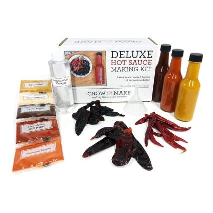 DIY hot sauce making kit