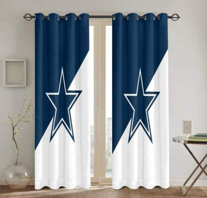 Dallas Cowboys curtains