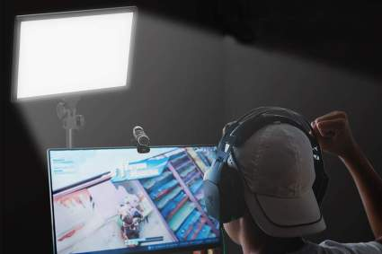 Dazzne D50 Desk Mount Video light for streaming