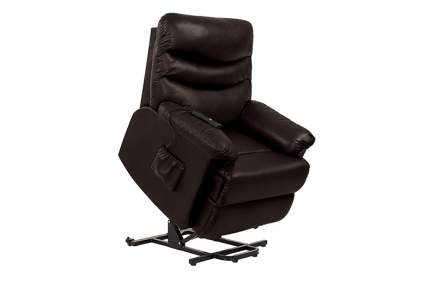 faux leather lift recliner