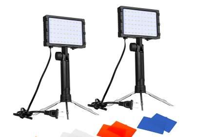 Emart 60 LED Portable Photography Lighting Kit for video streaming