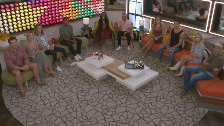 The cast of Big Brother 22 last week when Da'Vonne Rogers was evicted.