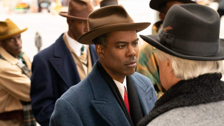 """Welcome to the Alternate Economy"" - Year 4, Episode 1 of Fargo Pictured: Chris Rock as Loy Cannon."