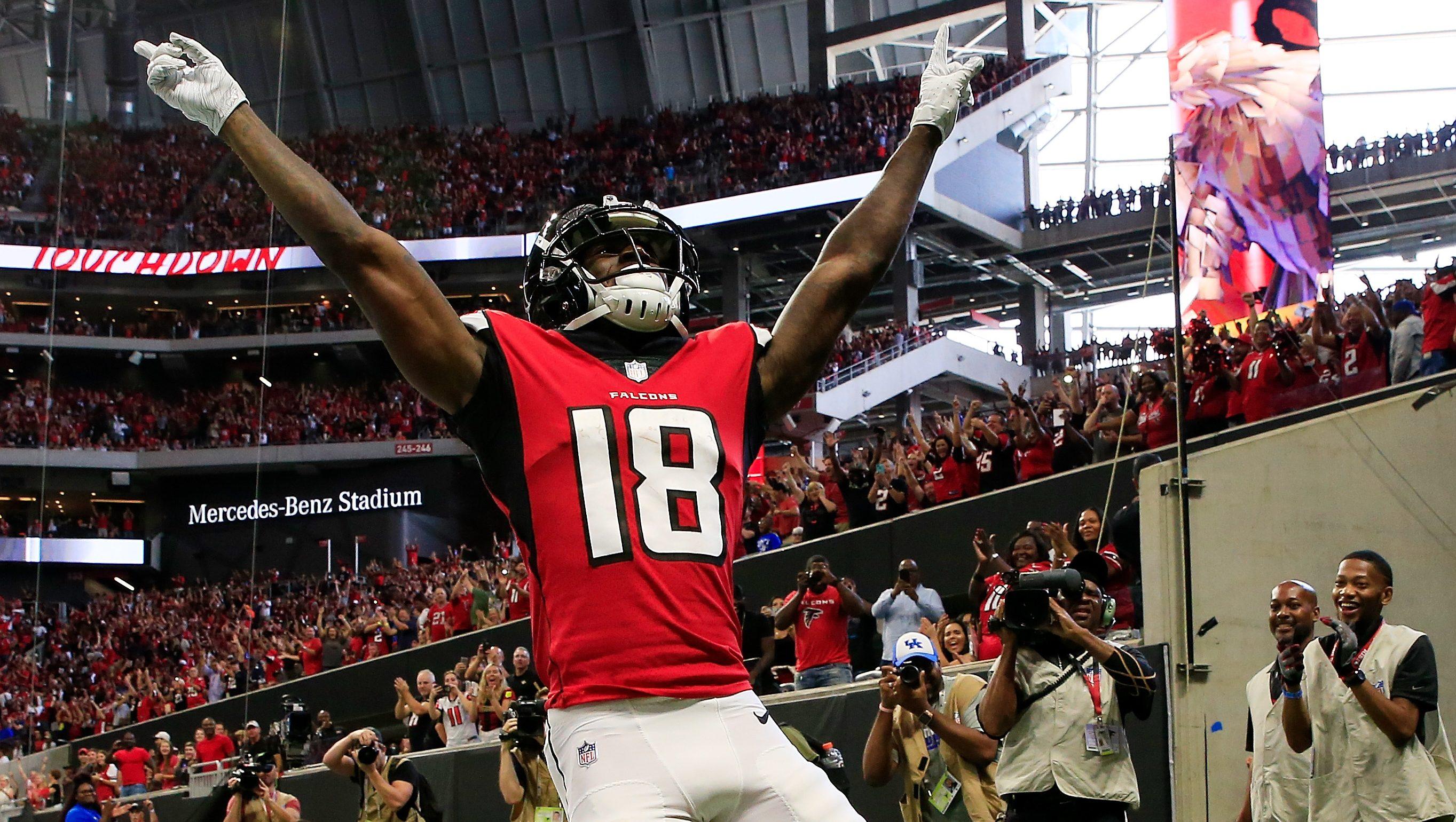 Falcons Calvin Ridley Receives Highest Grade In Week 1 Heavy Com