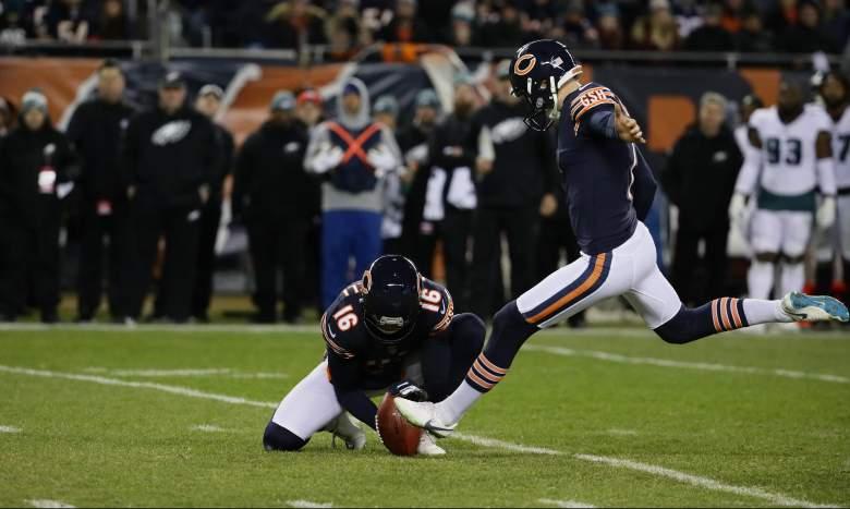 Cody Parkey Bears Browns