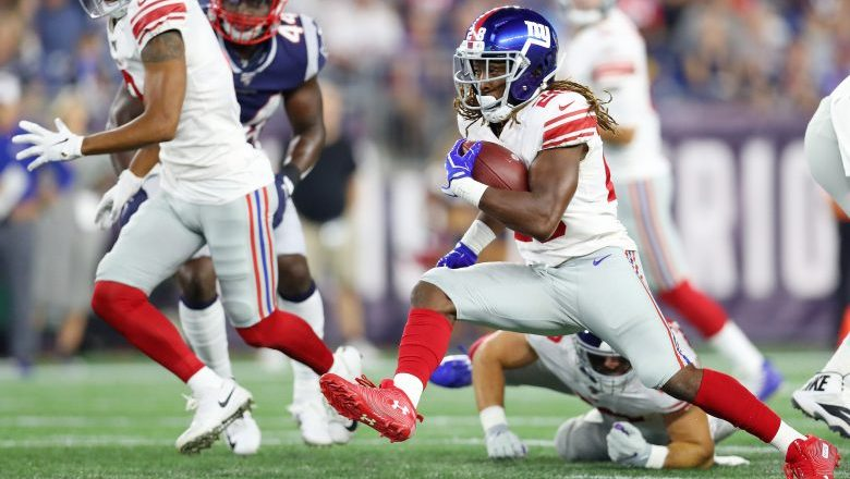 Ex-Giants RB Paul Perkins Signs With Colts