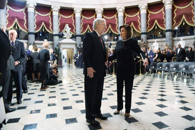 stimulus stalemate McConnell