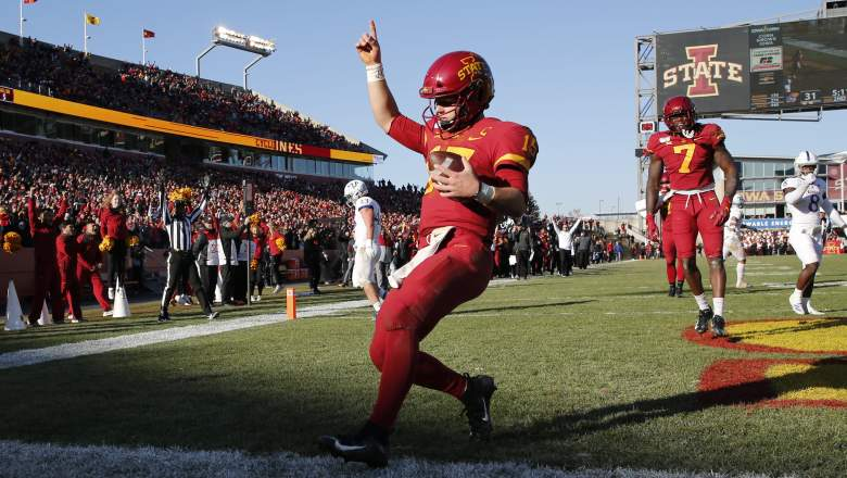 Louisiana Iowa State Betting line odds spread
