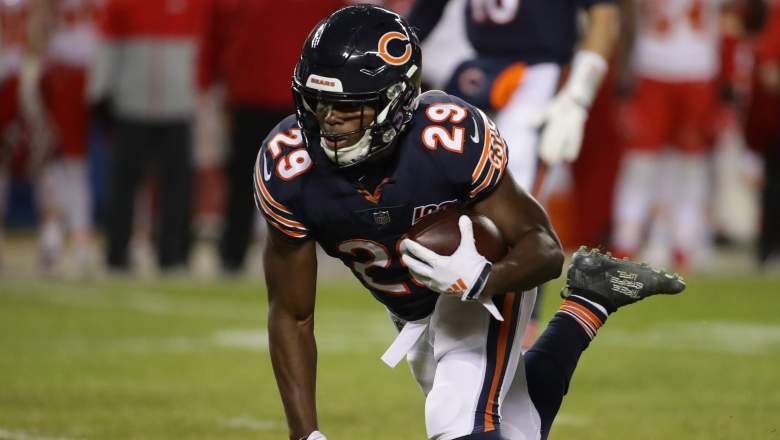 Tarik Cohen knee injury